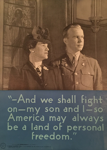 And We Shall Fight, My Son and I (Think American)