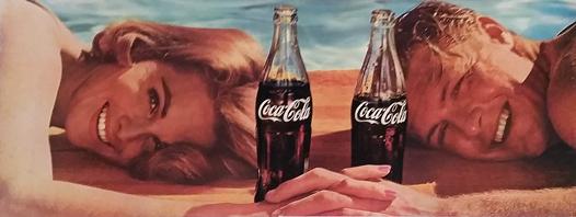 Coca Cola (Beach Couple)