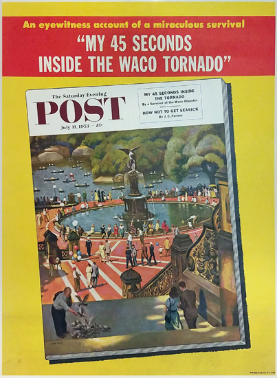 Saturday Evening Post -My 45 Seconds Inside the Waco Tornado