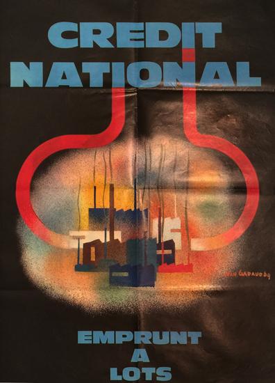 Credit National (Factories, 23x30)