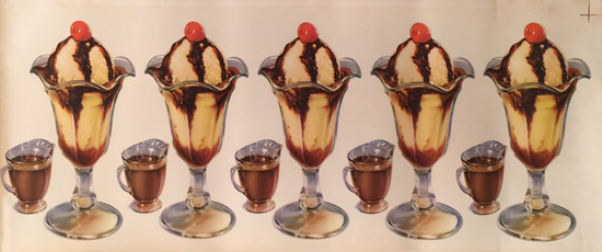 Hot Fudge Sundaes -American Die Cut