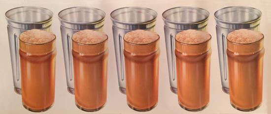 American Die Cut Chocolate Milk Shake