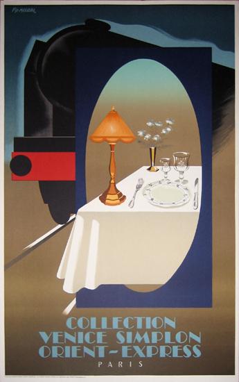 Venice Simplon Orient Express  (Lamp)