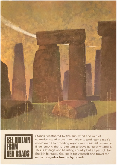 See Britain from Her Roads- Stonehenge