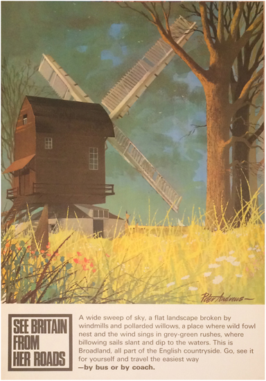 See Britain from Her Roads- Windmill