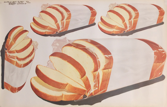 Sliced Bread American Die Cut