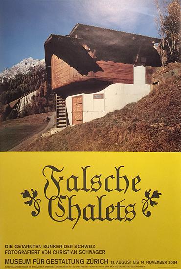 Museum Fur Gestaltung Zurich Falsche Chalets (Fake Houses)