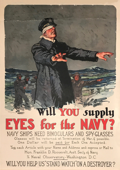 Will You Supply Eyes for the Navy