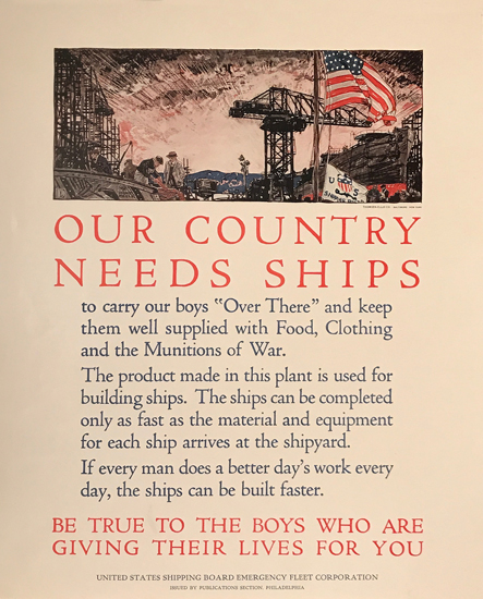 Our Country Needs Ships