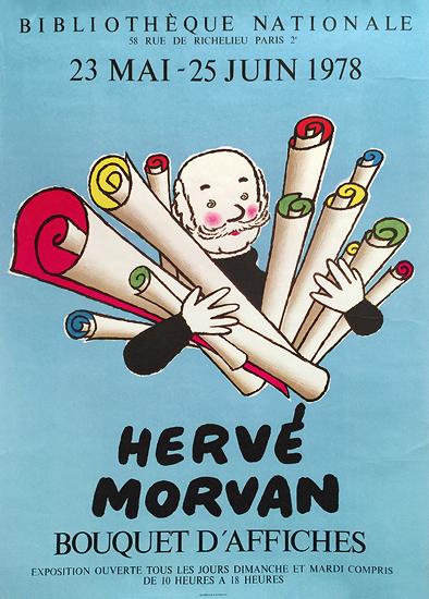 Herve Morvan Bouquet d'Affiches