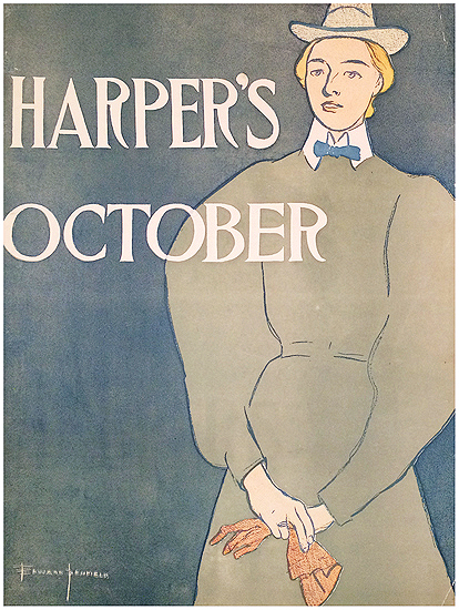 Harper's October (Woman with Gloves)