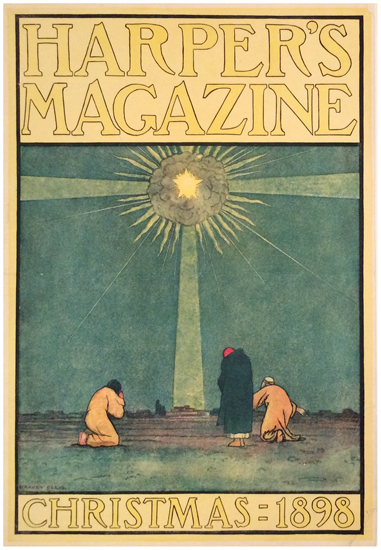 Harper's Magazine Christmas 1898