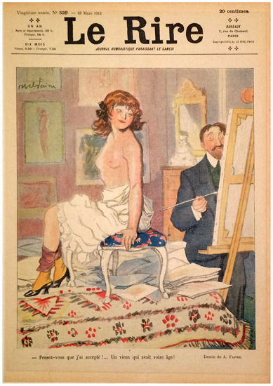 Le Rire Mars 1913 (The Model)