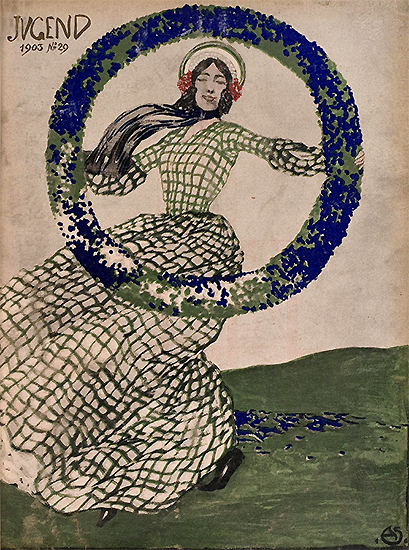 Jugend 1903 No.29 (Magazine Cover)