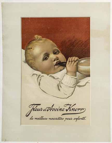 Fleur d'Avoine Knorr La Meilleure Norriture pour enfants