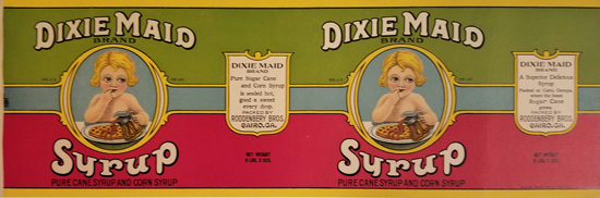 Dixie Maid Syrup