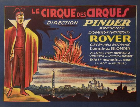 Pinder Presents Le Cirque des Cirques