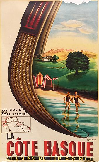 Chemins de fer P.O. et Du Midi La Cote Basque