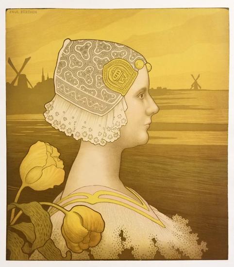 Dutch Profile, Wilhelmina of the Netherlands, Print No Text