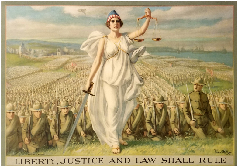 Liberty, Justice and Law Shall Rule