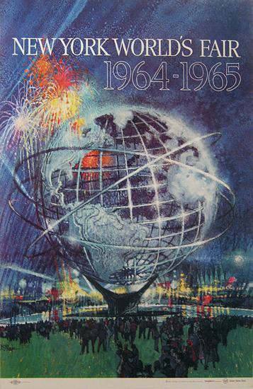New York World's Fair 1964-1965 (Blue)