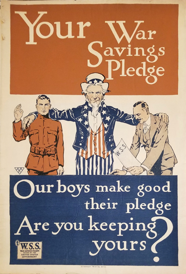 Your War Savings Pledge