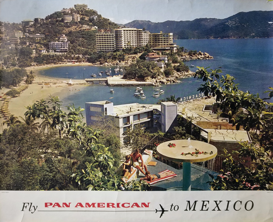 Pan American to Mexico