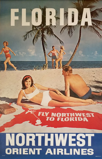Northwest Airlines - Hawaii Bikini