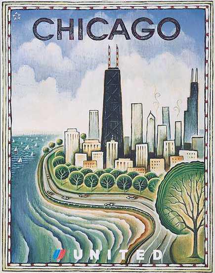 United Illustrators Series- Chicago