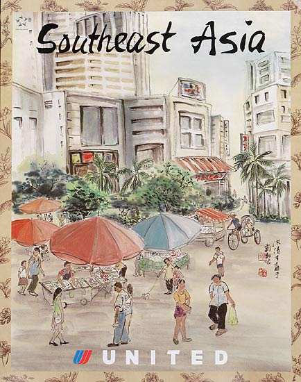 United Illustrators Series- Southeast Asia