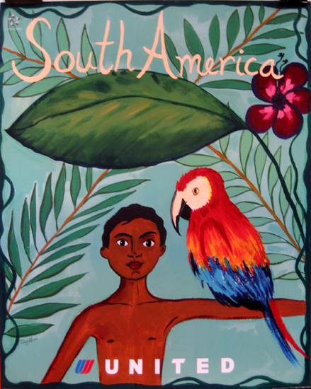 United Illustrators Series- South America