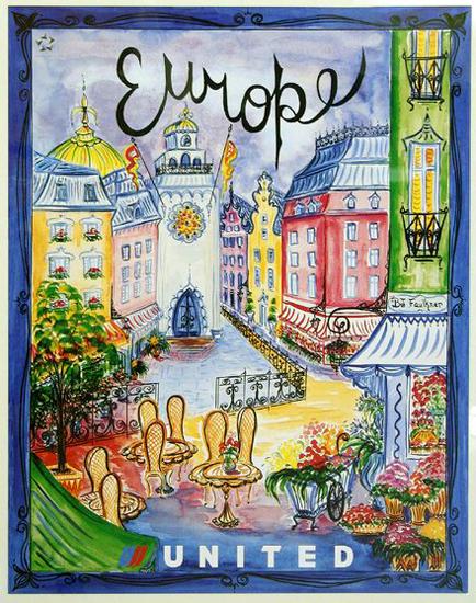United Illustrators Series- Europe