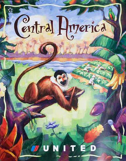 United Illustrators Series- Central America