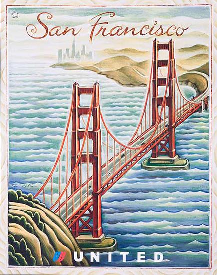 United Illustrators Series- San Francisco