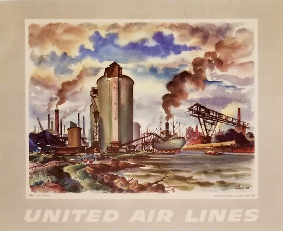 United Calendar Series - Great Lakes Industry
