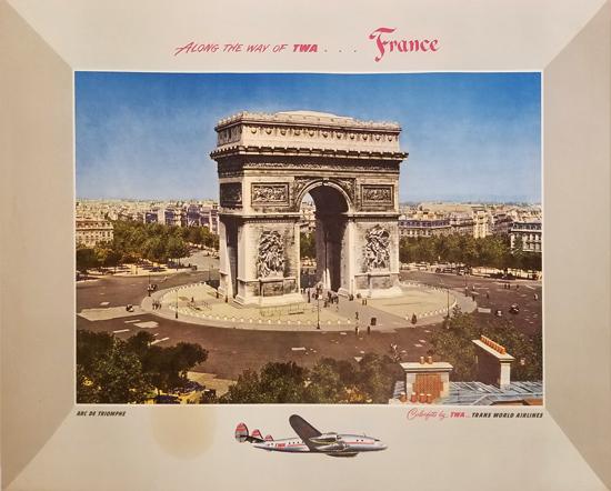 TWA Paris- Arc de Triomphe