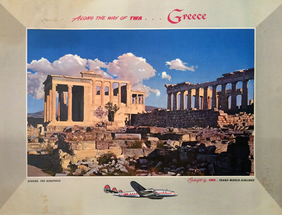 TWA Greece- Athens, The Acropolis