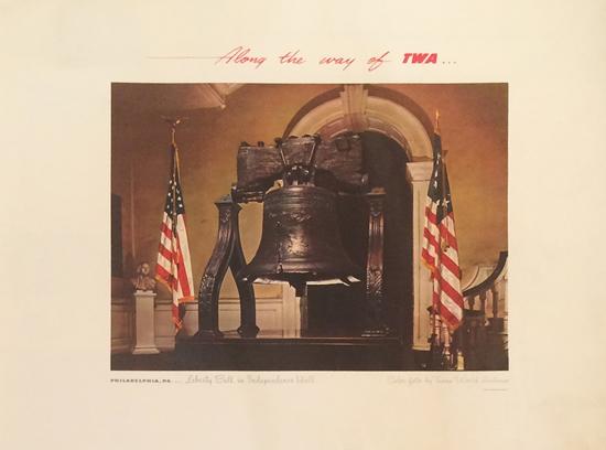 TWA - Philadelphia, The Liberty Bell