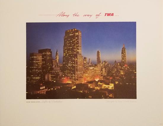 TWA - New York Lights