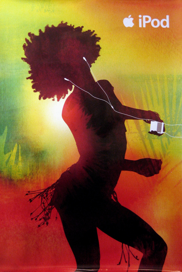 Ipod (Dancer with Fringe Skirt)