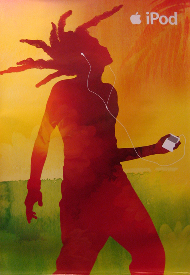Ipod (Dancer with Dreadlocks)