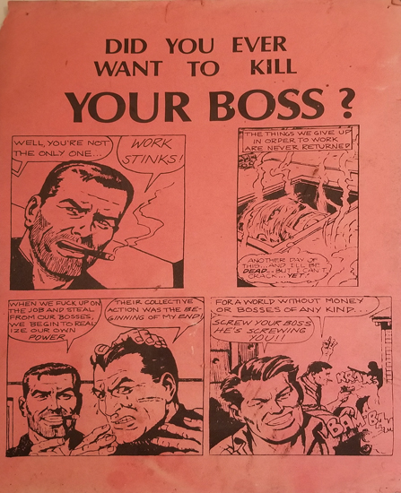 Did you Ever Want to Kill Your Boss