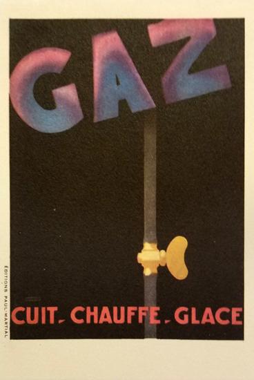 Gaz (Postcard Size)