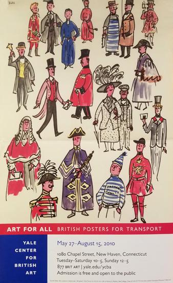 British Poster for Transport