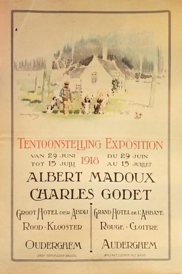 Albert Madoux Chalres Godet Tentoonstelling Exposition