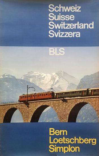 Bern-Loetschberg-Simplon (Train Bridge)