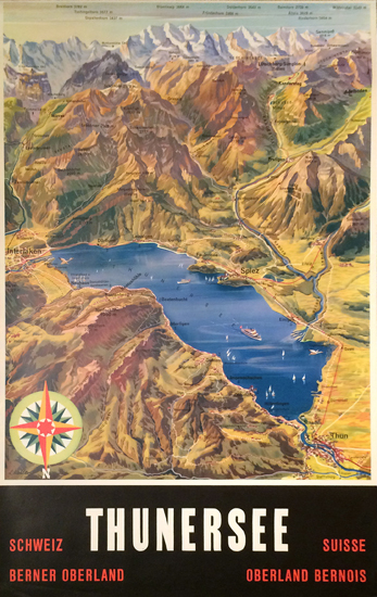 Thunersee (Map)
