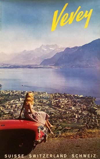 Vevey (Woman with Car)