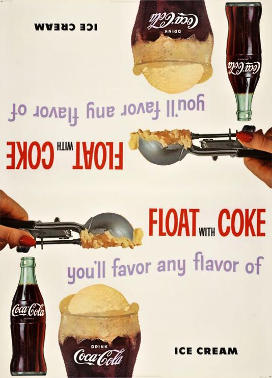 Float with Coke (UNCUT SHEET)