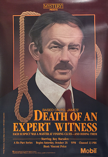 Mystery Presents Mobil Death of An Expert Witness